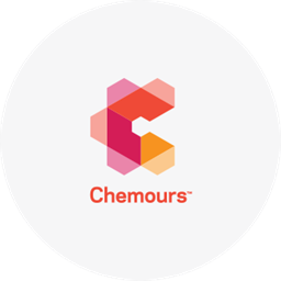 Chemours logo on light background
